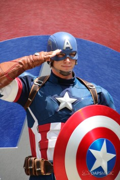 Captain America New Uniform at Disneyland-7
