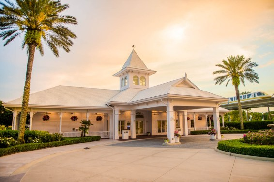 Franck's Bridal Studio, alongside the Disney Wedding Pavilion, is a one stop shop for couples to meet with a Disney wedding planner to review all the details for the big event. From intimate occasions to grand affairs, Disney's Fairy Tale Weddings gives couples the opportunity to leave all the planning in expert hands to personally customize one of the most memorable experiences of a lifetime. Couples also have their choice of several unique wedding locations, including Disney's world-class theme parks, luxury resorts, or Disney's Fairy Tale Wedding Pavilion, adjacent to the luxurious Grand Floridian Resort & Spa on Seven Seas Lagoon in Lake Buena Vista, Fla. (Disney)