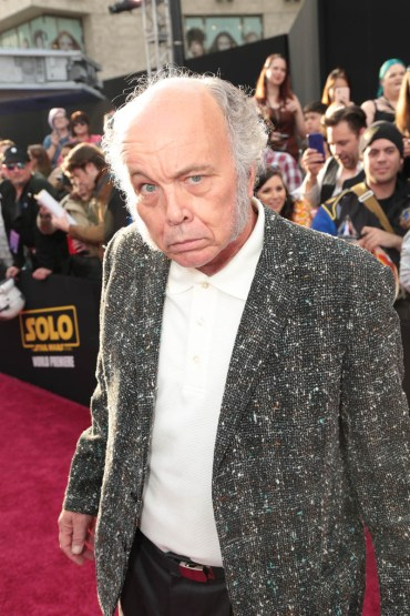 """Clint Howard attends the world premiere of """"Solo: A Star Wars Story"""" in Hollywood on May 10, 2018. (Photo: Alex J. Berliner/ABImages)"""