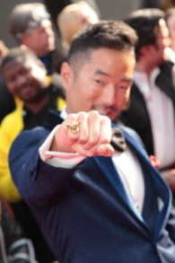 """Leonardo Nam attends the world premiere of """"Solo: A Star Wars Story"""" in Hollywood on May 10, 2018. (Photo: Alex J. Berliner/ABImages)"""