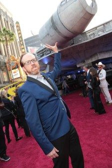 """Ptolemy Slocum attends the world premiere of """"Solo: A Star Wars Story"""" in Hollywood on May 10, 2018. (Photo: Alex J. Berliner/ABImages)"""