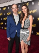 HOLLYWOOD, CA - MAY 10: Ptolemy Slocum (L) and Angela Sarafyan attend the world premiere of ìSolo: A Star Wars Storyî in Hollywood on May 10, 2018. (Photo by Alberto E. Rodriguez/Getty Images for Disney) *** Local Caption *** Ptolemy Slocum; Angela Sarafyan