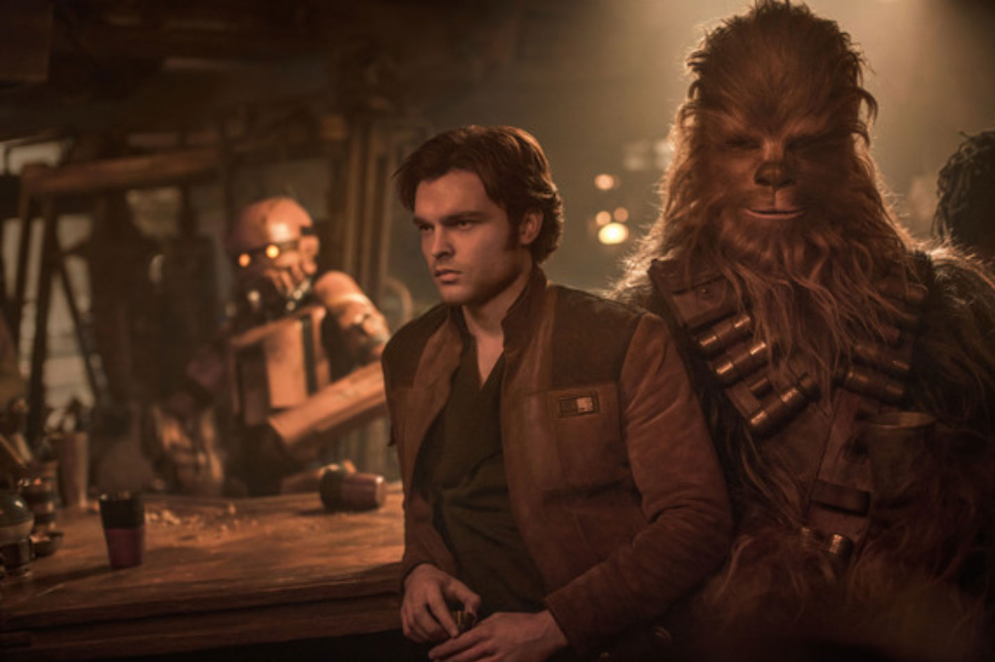 Solo: A Star Wars Story Flies to Theaters Tonight With a New Featurette Today!