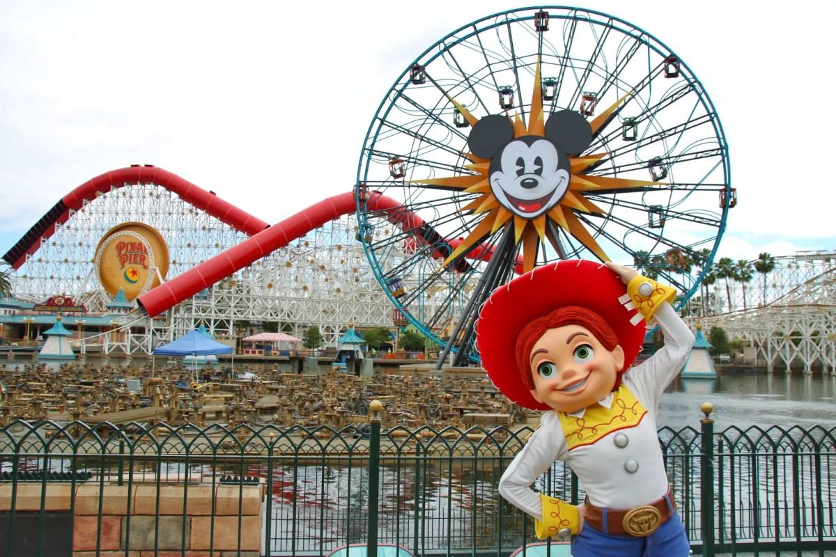 Disneyland Resort Prepares for Upcoming Opening of Pixar Pier! - Photo Report