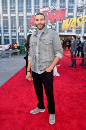 """HOLLYWOOD, CA - JUNE 25: Ian Verdun attends the Los Angeles Global Premiere for Marvel Studios' """"Ant-Man And The Wasp"""" at the El Capitan Theatre on June 25, 2018 in Hollywood, California. (Photo by Alberto E. Rodriguez/Getty Images for Disney) *** Local Caption *** Ian Verdun"""