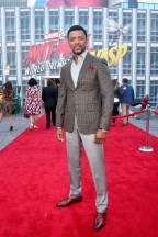 """HOLLYWOOD, CA - JUNE 25: Miles Mussenden attends the Los Angeles Global Premiere for Marvel Studios' """"Ant-Man And The Wasp"""" at the El Capitan Theatre on June 25, 2018 in Hollywood, California. (Photo by Alberto E. Rodriguez/Getty Images for Disney) *** Local Caption *** Miles Mussenden"""