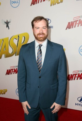 """HOLLYWOOD, CA - JUNE 25: Producer Stephen Broussard attends the Los Angeles Global Premiere for Marvel Studios' """"Ant-Man And The Wasp"""" at the El Capitan Theatre on June 25, 2018 in Hollywood, California. (Photo by Jesse Grant/Getty Images for Disney) *** Local Caption *** Stephen Broussard"""
