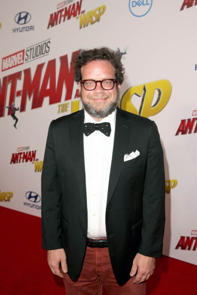 """HOLLYWOOD, CA - JUNE 25: Composer Christophe Beck attends the Los Angeles Global Premiere for Marvel Studios' """"Ant-Man And The Wasp"""" at the El Capitan Theatre on June 25, 2018 in Hollywood, California. (Photo by Jesse Grant/Getty Images for Disney) *** Local Caption *** Christophe Beck"""