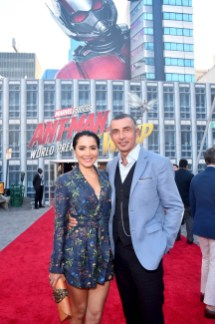 "HOLLYWOOD, CA - JUNE 25: Shaun Toub (R) and Lorena Toub attend the Los Angeles Global Premiere for Marvel Studios' ""Ant-Man And The Wasp"" at the El Capitan Theatre on June 25, 2018 in Hollywood, California. (Photo by Alberto E. Rodriguez/Getty Images for Disney) *** Local Caption *** Shaun Toub; Lorena Toub"
