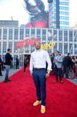 """HOLLYWOOD, CA - JUNE 25: Actor Tip """"T.I."""" Harris attends the Los Angeles Global Premiere for Marvel Studios' """"Ant-Man And The Wasp"""" at the El Capitan Theatre on June 25, 2018 in Hollywood, California. (Photo by Alberto E. Rodriguez/Getty Images for Disney) *** Local Caption *** Tip """"T.I."""" Harris"""