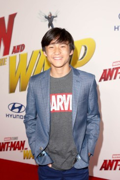 """HOLLYWOOD, CA - JUNE 25: Forrest Wheeler attends the Los Angeles Global Premiere for Marvel Studios' """"Ant-Man And The Wasp"""" at the El Capitan Theatre on June 25, 2018 in Hollywood, California. (Photo by Jesse Grant/Getty Images for Disney) *** Local Caption *** Forrest Wheeler"""