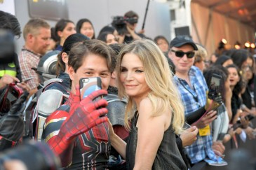 "HOLLYWOOD, CA - JUNE 25: Actor Michelle Pfeiffer attends the Los Angeles Global Premiere for Marvel Studios' ""Ant-Man And The Wasp"" at the El Capitan Theatre on June 25, 2018 in Hollywood, California. (Photo by Charley Gallay/Getty Images for Disney) *** Local Caption *** Michelle Pfeiffer"