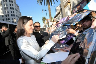"""HOLLYWOOD, CA - JUNE 25: Actor Evangeline Lilly attends the Los Angeles Global Premiere for Marvel Studios' """"Ant-Man And The Wasp"""" at the El Capitan Theatre on June 25, 2018 in Hollywood, California. (Photo by Charley Gallay/Getty Images for Disney) *** Local Caption *** Evangeline Lilly"""