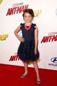 """HOLLYWOOD, CA - JUNE 25: Madeleine McGraw attends the Los Angeles Global Premiere for Marvel Studios' """"Ant-Man And The Wasp"""" at the El Capitan Theatre on June 25, 2018 in Hollywood, California. (Photo by Jesse Grant/Getty Images for Disney) *** Local Caption *** Madeleine McGraw"""