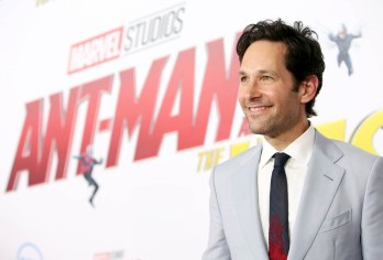 """HOLLYWOOD, CA - JUNE 25: Actor Paul Rudd attends the Los Angeles Global Premiere for Marvel Studios' """"Ant-Man And The Wasp"""" at the El Capitan Theatre on June 25, 2018 in Hollywood, California. (Photo by Jesse Grant/Getty Images for Disney) *** Local Caption *** Paul Rudd"""