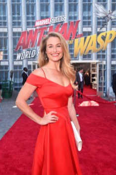 """HOLLYWOOD, CA - JUNE 25: Ingrid Kleinig attends the Los Angeles Global Premiere for Marvel Studios' """"Ant-Man And The Wasp"""" at the El Capitan Theatre on June 25, 2018 in Hollywood, California. (Photo by Alberto E. Rodriguez/Getty Images for Disney) *** Local Caption *** Ingrid Kleinig"""