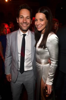 """HOLLYWOOD, CA - JUNE 25: Actors Paul Rudd (L) and Evangeline Lilly attend the Los Angeles Global Premiere for Marvel Studios' """"Ant-Man And The Wasp"""" at the El Capitan Theatre on June 25, 2018 in Hollywood, California. (Photo by Alberto E. Rodriguez/Getty Images for Disney) *** Local Caption *** Paul Rudd; Evangeline Lilly"""