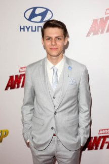 """HOLLYWOOD, CA - JUNE 25: Ty Simpkins attends the Los Angeles Global Premiere for Marvel Studios' """"Ant-Man And The Wasp"""" at the El Capitan Theatre on June 25, 2018 in Hollywood, California. (Photo by Jesse Grant/Getty Images for Disney) *** Local Caption *** Ty Simpkins"""