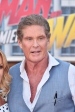 """HOLLYWOOD, CA - JUNE 25: David Hasselhoff attends the Los Angeles Global Premiere for Marvel Studios' """"Ant-Man And The Wasp"""" at the El Capitan Theatre on June 25, 2018 in Hollywood, California. (Photo by Alberto E. Rodriguez/Getty Images for Disney) *** Local Caption *** David Hasselhoff"""
