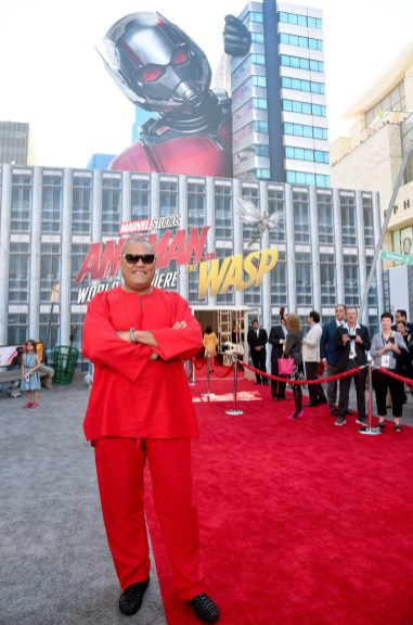 """HOLLYWOOD, CA - JUNE 25: Actor Laurence Fishburne attends the Los Angeles Global Premiere for Marvel Studios' """"Ant-Man And The Wasp"""" at the El Capitan Theatre on June 25, 2018 in Hollywood, California. (Photo by Alberto E. Rodriguez/Getty Images for Disney) *** Local Caption *** Laurence Fishburne"""
