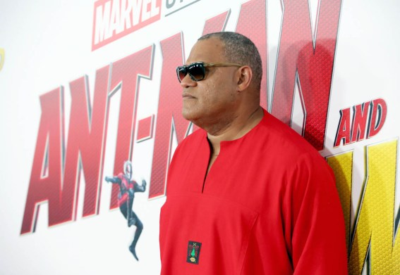 "HOLLYWOOD, CA - JUNE 25: Actor Laurence Fishburne attends the Los Angeles Global Premiere for Marvel Studios' ""Ant-Man And The Wasp"" at the El Capitan Theatre on June 25, 2018 in Hollywood, California. (Photo by Jesse Grant/Getty Images for Disney) *** Local Caption *** Laurence Fishburne"