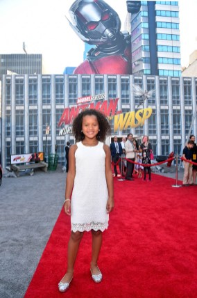 """HOLLYWOOD, CA - JUNE 25: RaeLynn Bratten attends the Los Angeles Global Premiere for Marvel Studios' """"Ant-Man And The Wasp"""" at the El Capitan Theatre on June 25, 2018 in Hollywood, California. (Photo by Alberto E. Rodriguez/Getty Images for Disney) *** Local Caption *** RaeLynn Bratten"""