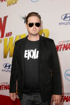 "HOLLYWOOD, CA - JUNE 25: Tim Heidecker attends the Los Angeles Global Premiere for Marvel Studios' ""Ant-Man And The Wasp"" at the El Capitan Theatre on June 25, 2018 in Hollywood, California. (Photo by Jesse Grant/Getty Images for Disney) *** Local Caption *** Tim Heidecker"
