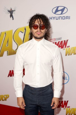 """HOLLYWOOD, CA - JUNE 25: Ramses Jimenez attends the Los Angeles Global Premiere for Marvel Studios' """"Ant-Man And The Wasp"""" at the El Capitan Theatre on June 25, 2018 in Hollywood, California. (Photo by Jesse Grant/Getty Images for Disney) *** Local Caption *** Ramses Jimenez"""