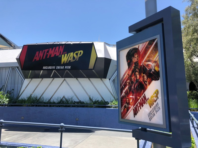 Ant-Man and the Wasp Preview - Magic Eye Theater in Tomorrowland at Disneyland