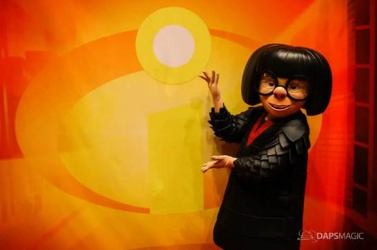 Pixar Pier Media Event - Edna Mode-6