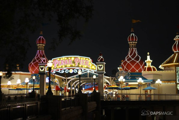 Pixar Pier Media Event - Night-48