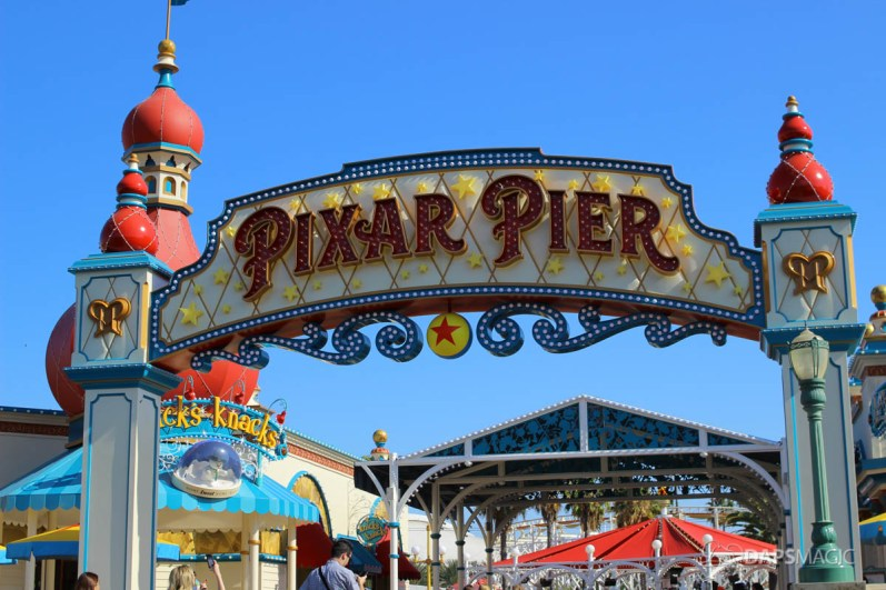 Pixar Pier Media Event - Outside-63