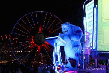 Pixar Pier Media Event - Paint the Night with Incredibles Float-16