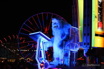 Pixar Pier Media Event - Paint the Night with Incredibles Float-17