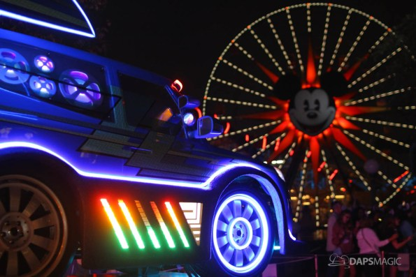 Pixar Pier Media Event - Paint the Night with Incredibles Float-21
