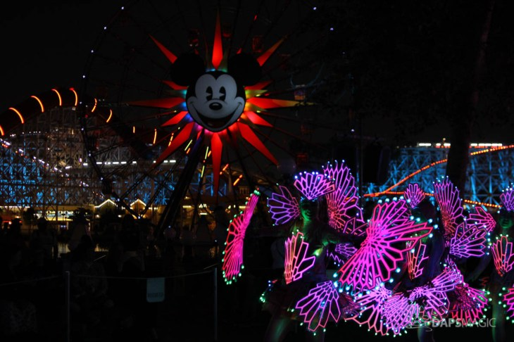 Pixar Pier Media Event - Paint the Night with Incredibles Float-23