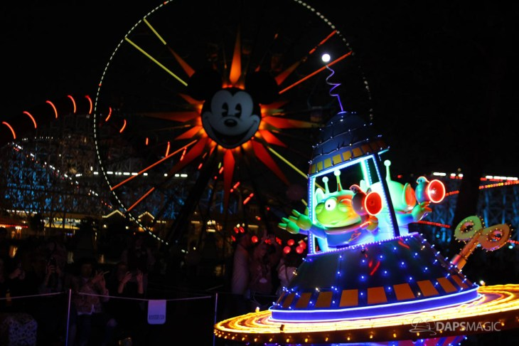 Pixar Pier Media Event - Paint the Night with Incredibles Float-31