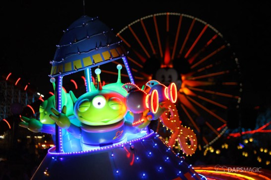 Pixar Pier Media Event - Paint the Night with Incredibles Float-32