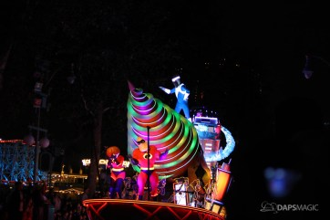 Pixar Pier Media Event - Paint the Night with Incredibles Float-46
