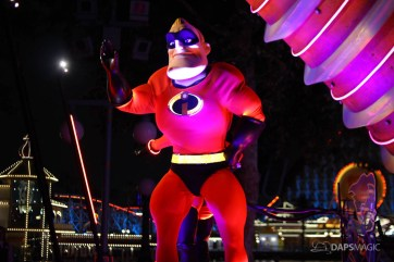 Pixar Pier Media Event - Paint the Night with Incredibles Float-58