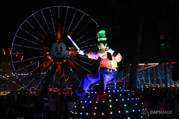 Pixar Pier Media Event - Paint the Night with Incredibles Float-67