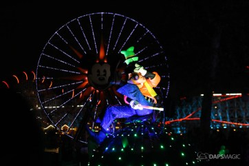 Pixar Pier Media Event - Paint the Night with Incredibles Float-68