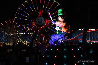 Pixar Pier Media Event - Paint the Night with Incredibles Float-69