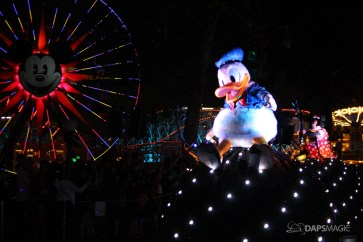 Pixar Pier Media Event - Paint the Night with Incredibles Float-70