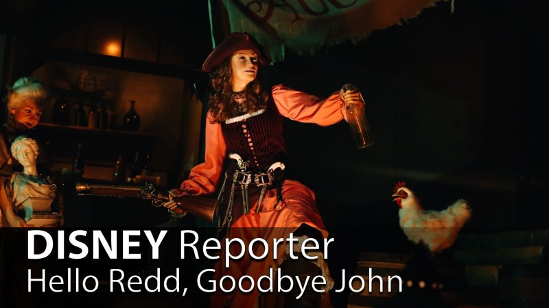 Hello Redd, Goodbye John - DISNEY Reporter