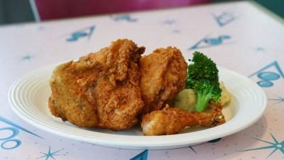 Flo's V8 Café Fried Chicken - Disney California Adventure