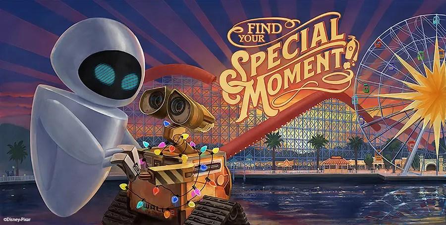 Wall-E Billboard - Pixar Pier
