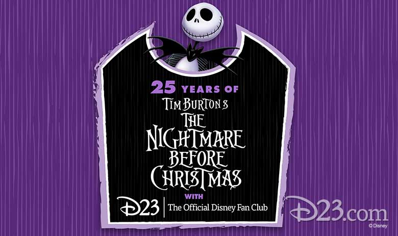 25 Years of Tim Burton's The Nightmare Before Christmas with D23: The Official Disney Fan Club