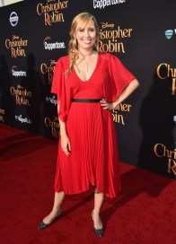 BURBANK, CA - JULY 30: Screenwriter Allison Schroeder attends the world premiere of Disney's 'Christopher Robin' at the Main Theater on the Walt Disney Studios lot in Burbank, CA on July 30, 2018. (Photo by Alberto E. Rodriguez/Getty Images for Disney) *** Local Caption *** Allison Schroeder