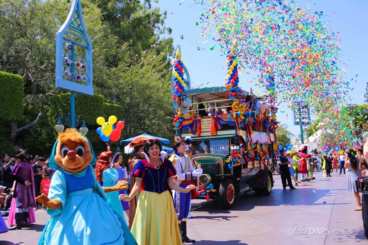 Disneyland Celebrates 63 Years of Magic With 63 Disney Characters! (Photos and Videos)